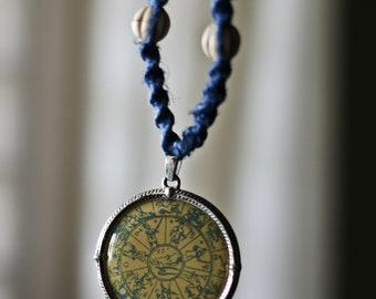Zodiac Dream hemp necklace