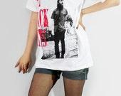 THE BLACK KEYS Blues Rock Alternative Rock Music Shirt Women T-Shirt Men T-Shirt Unisex T-Shirt White Tee Shirt Indie Rock T-Shirt Size M
