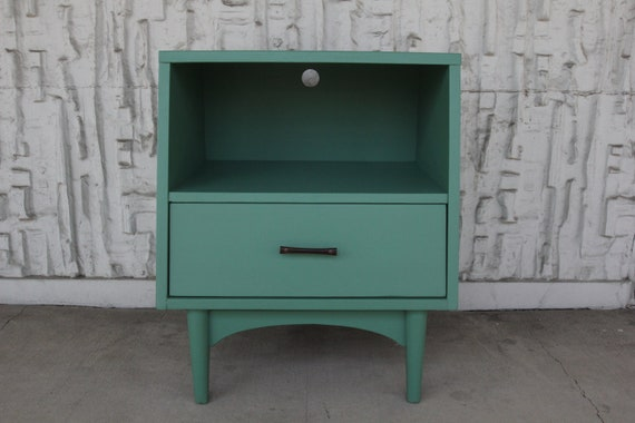 Green Retro Side Table