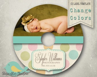CD/Dvd Label PHOTOSHOP TEMPLATE  - dvd Label 11