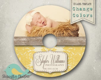CD/Dvd Label PHOTOSHOP TEMPLATE  - dvd Label 7
