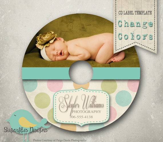 Cd/Dvd Label Photoshop Template Dvd Label 11