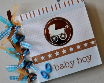 6x6 Baby Boy Paper Bag Album
