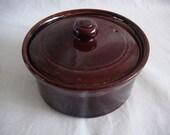 1960s stoneware pate pot