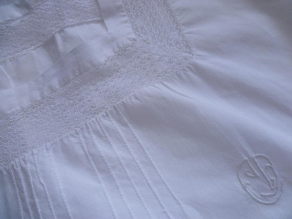 Vintage Nightdress Gown Chemise , Bloomers,  French  Circa, 1920's.