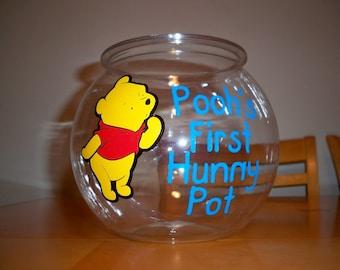 WINNIE THE POOH birthday party favor bowl (1 gallon)