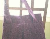 Purple tote for Alissa Savage