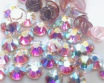 Crystal AB 16ss Swarovski Elements Rhinestones 2038 Hot fix 144 pieces (1 gross)