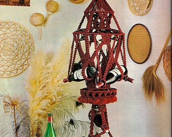 At Home With  Macrame  Pattern Book AH-1