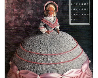Crochet Miss U.S.A Doll Pattern - Vintage Miss USA Crochet Pattern Doll - Crochet Pattern Bookdrawer