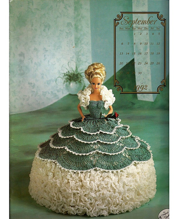 The Cotillion Collection Miss September Fashion Doll Crochet