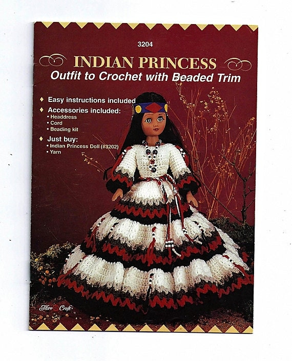Crochet Stitches In Hindi : Indian Princess Crochet Indian Doll Pattern by grammysyarngarden