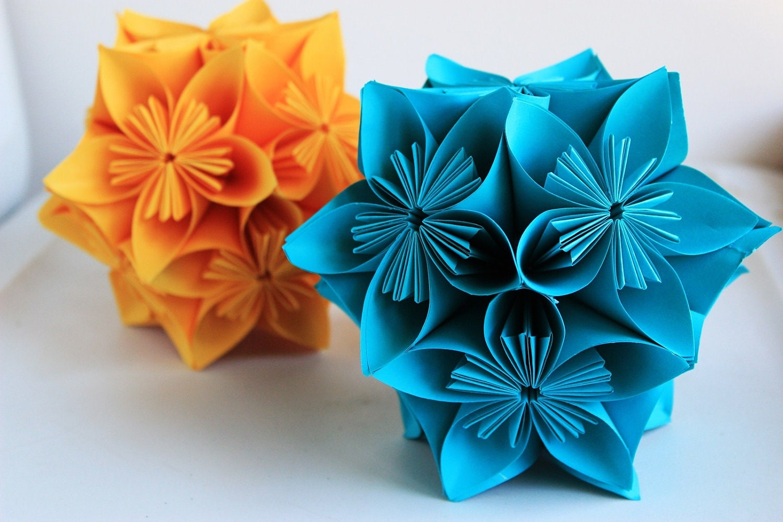 Kusudama paper flower balls table decor hanging balls zoom dhlflorist Image collections