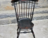 River Bend Chair Co. Windsor Doll Wooden Side Chair