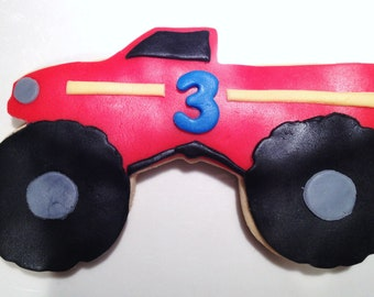 Monster Truck Cookie Favors