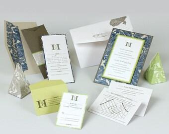 Wedding Invitations - Susan Collection