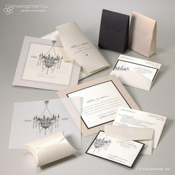 Wedding Invitation -  Victorian