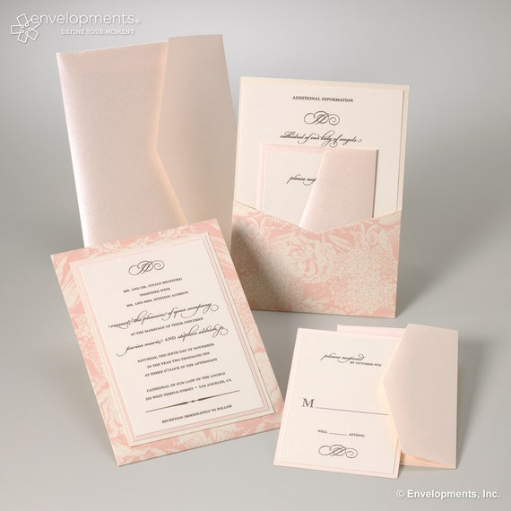 Wedding Invitations - Parisa Collection