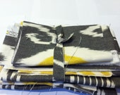 charcoal fabric bundle