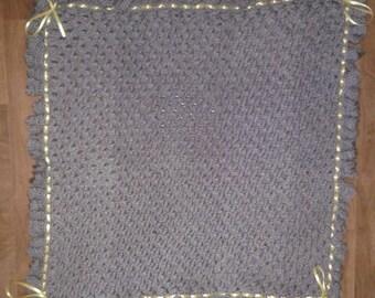 Crocodile Stitch Blanket