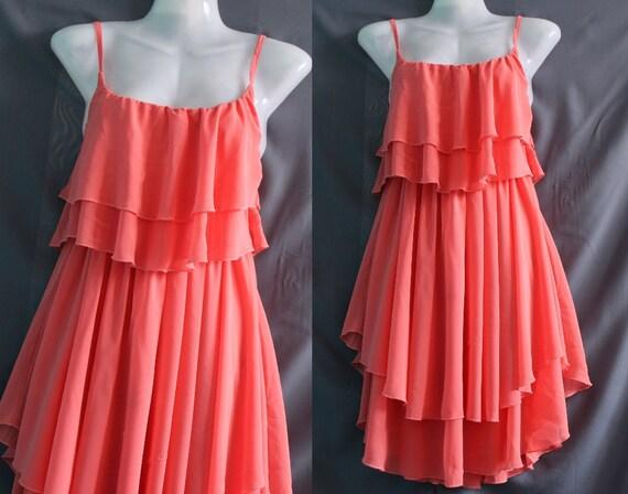 Soft Pink Prom Dress - Sweet Heart Chiffon Dress - Romance Night Party Dress Cocktail Dress