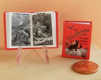 Wild Animals Miniature book 1 to 12