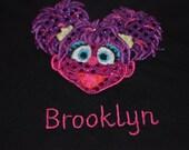 Personalized Sesame Street Abby Cadabby Shirt