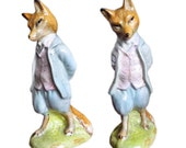 Foxy Gentleman Beatrix Potter figurine 1980s