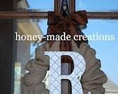 3 Custom Burlap Wreaths for Aubrey