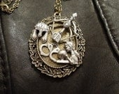 Dark-Hunter Series Pendant - Kyrian & Amanda