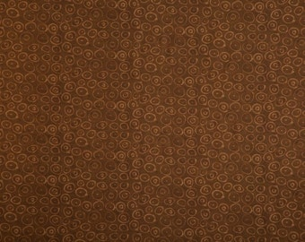 Marcia Derse - Petites Collection - Umber Bullseye - 1/2 yard cotton quilt fabric 516