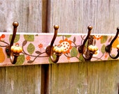 Wall Hooks and Organizer - Ginger Peach Tea