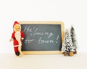 Vintage chalkboard winter holiday christmas decorations ornaments etsy black friday etsy cyber monday etsy
