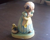 Vintage Stern and Louis Co. Figurine Little Miss Muffet