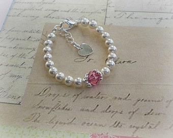 Baby Birthstone Bracelet-New Baby Gift- Jewelry-Baby Jewelry