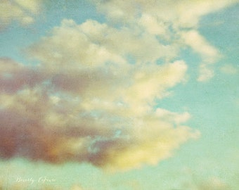 nature, clouds, blue, white, fine art photography