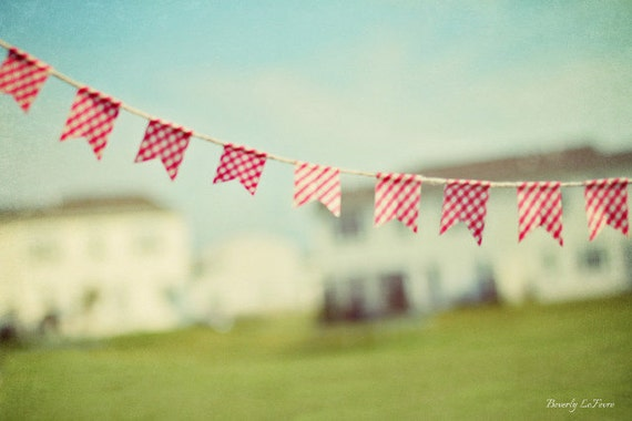 summer is in the air, bunting, fine art photography, summer days