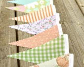 Mix n' Match - Vintage Bunting Banner with 12 Flags