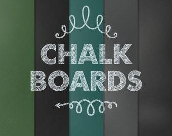 60% OFF SALE Digital Paper Chalkboard Chalk Board Background Textures Teacher Clip Art