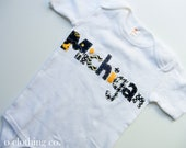 RESERVED : FLORIDA shirt Hand Stitched Onesie, Children Clothing, Boutique Clothing Kids- Team Jersey