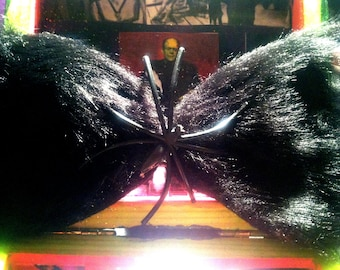 Furry Spider Bow