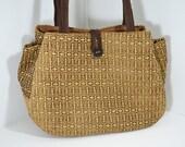Shoulder Bag on Etsy, Diaper Bag, Brown Everyday Tote Bag, Multiple Compartment Bag, Organizer Bag, Fashionable Bag, Great Gift for her