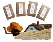 Daddy Gift for Brother Leather Sandalwood Scented Sachet Home Fragrance Suitcase Drawer Freshener Gentleman Rustic Wedding Favors Winter Him