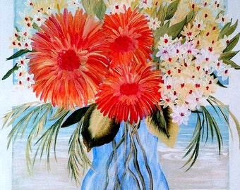 "Painting ""Seaside Window"" 18x24"""