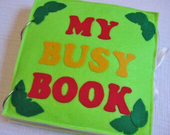 PDF - Busy Book / Quiet Book Pattern