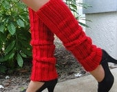 Custom, Made-to-Order, Crocheted 80's Style Legwarmers, Handmade, Dance, Ballet, Jazz, Womens Accessory