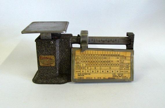 Retro Postal Scale, Triner Scale & MFG Co. Chicago ILL, Collectible Triner Postal Scale