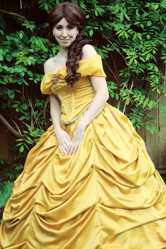 Items similar to Belle of the Ball Yellow Ball Gown on Etsy
