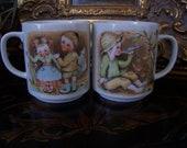 Vintage Japan Coffee Cups