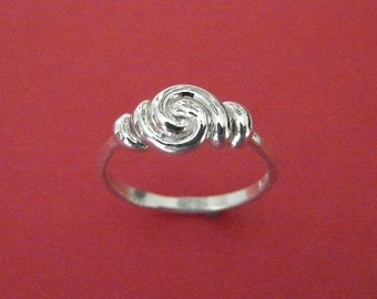 Swirly  Sterling Silver Ring